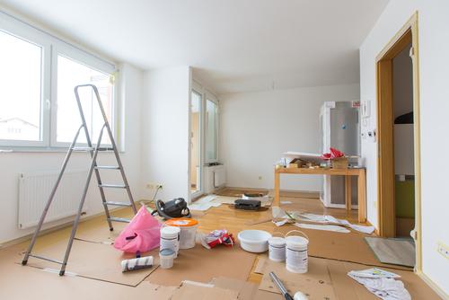 A property under construction