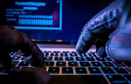 Someone hacking