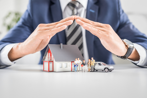 An agent expanding your home insurance coverage